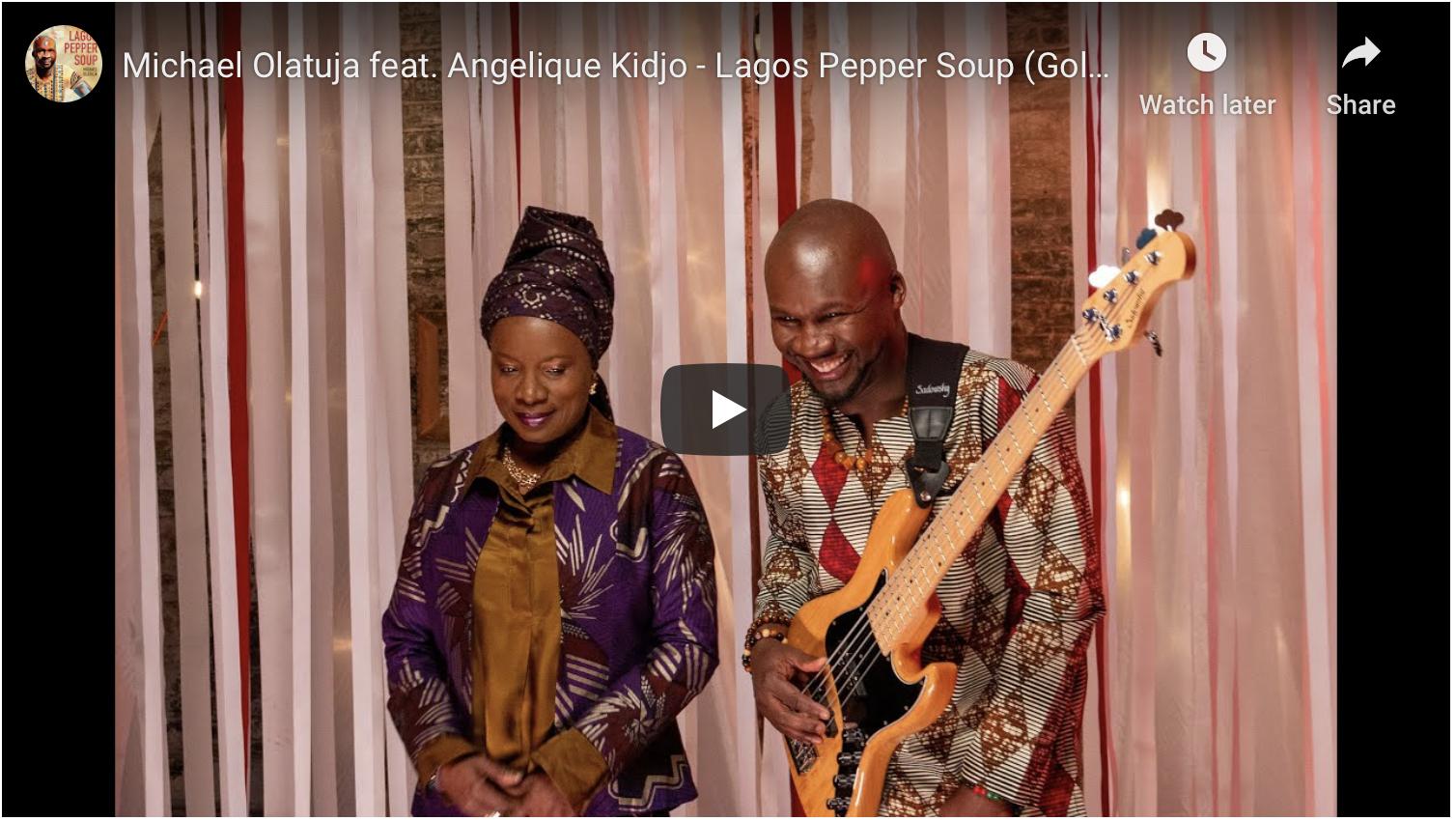 """PREMIERE: Michael Olatuja & Angélique Kidjo Cook Some """"Lagos Pepper Soup"""" – PopMatters"""