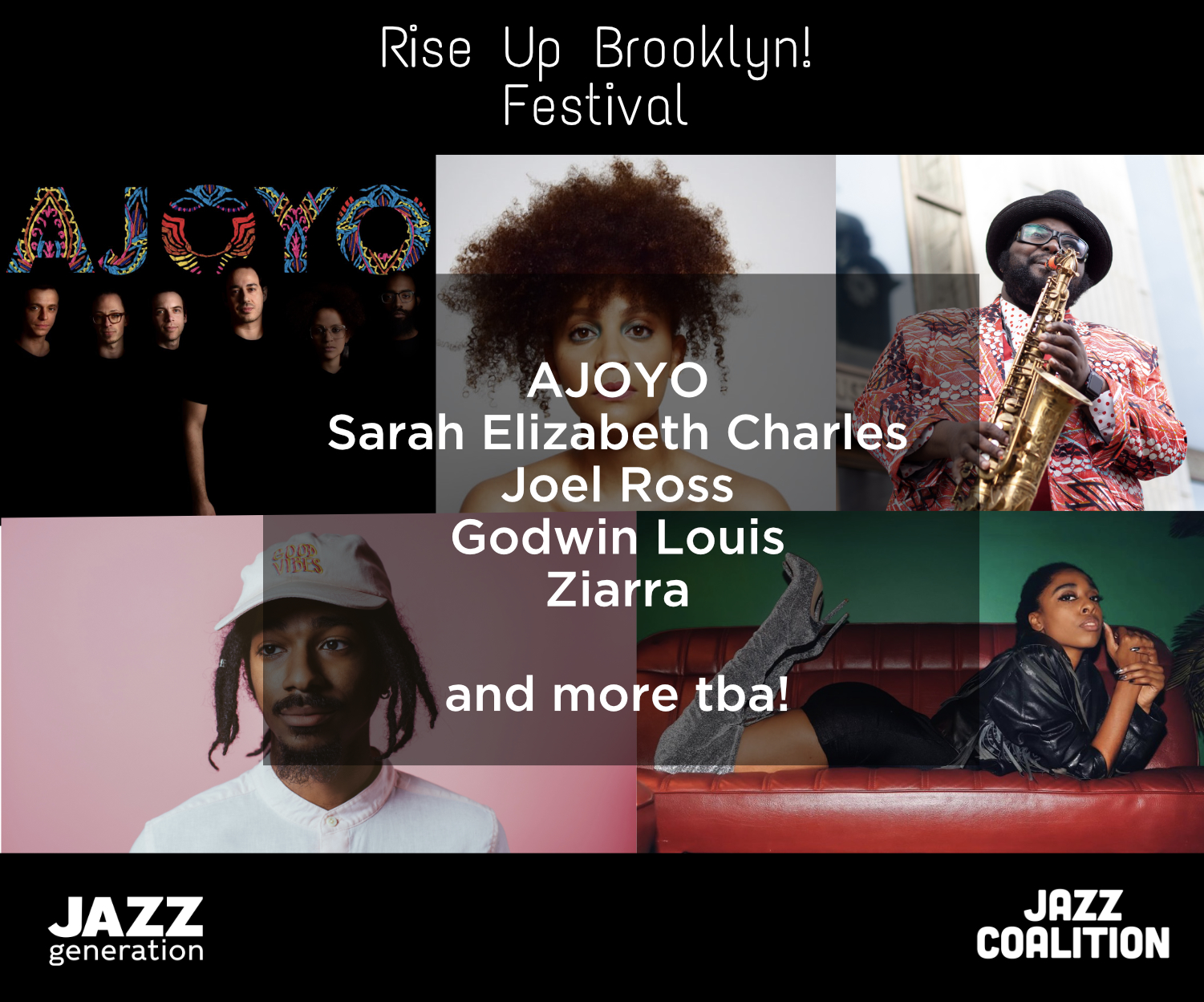 EVENT ANNOUNCEMENT: RISE UP BROOKLYN! Runs July 10 – July 31st
