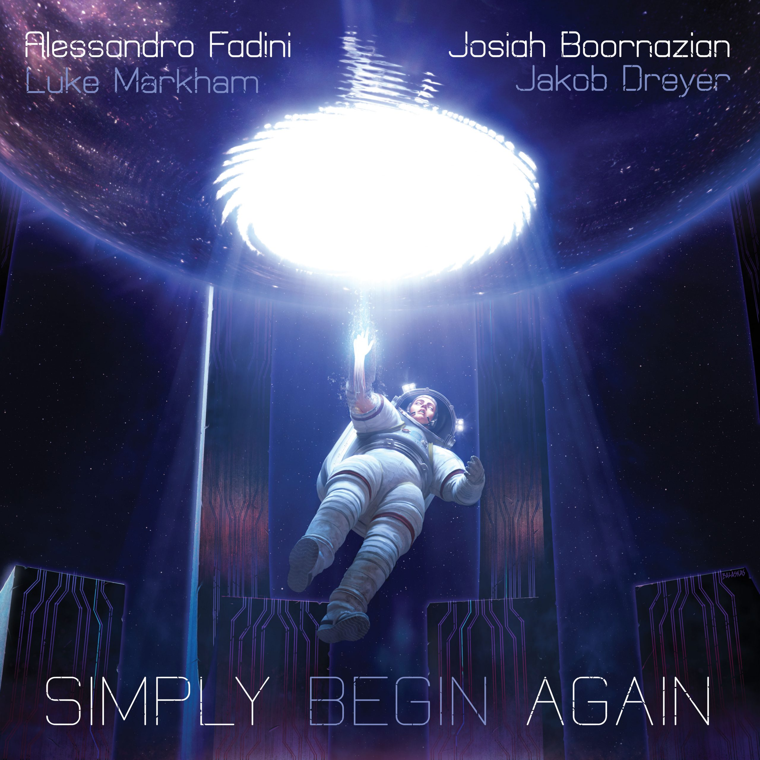 OUT NOW: Alessandro Fadini and Josiah Boornazian's SIMPLY BEGIN AGAIN (Fresh Sound New Talent)