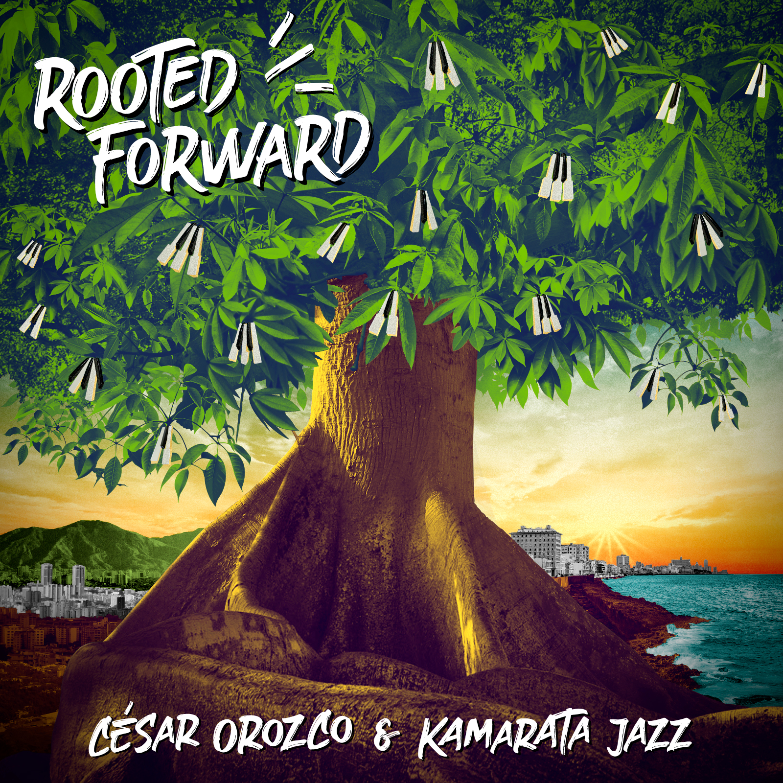 NEW RELEAE: César Orozco and Kamarata Jazz's ROOTED FORWARD is out October 16, 2020