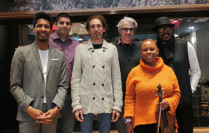"""REVIEW: The Regina Carter Freedom Band's """"Swing States: Harmony In The Battlegrounds""""  Reviewed on Post Genre"""