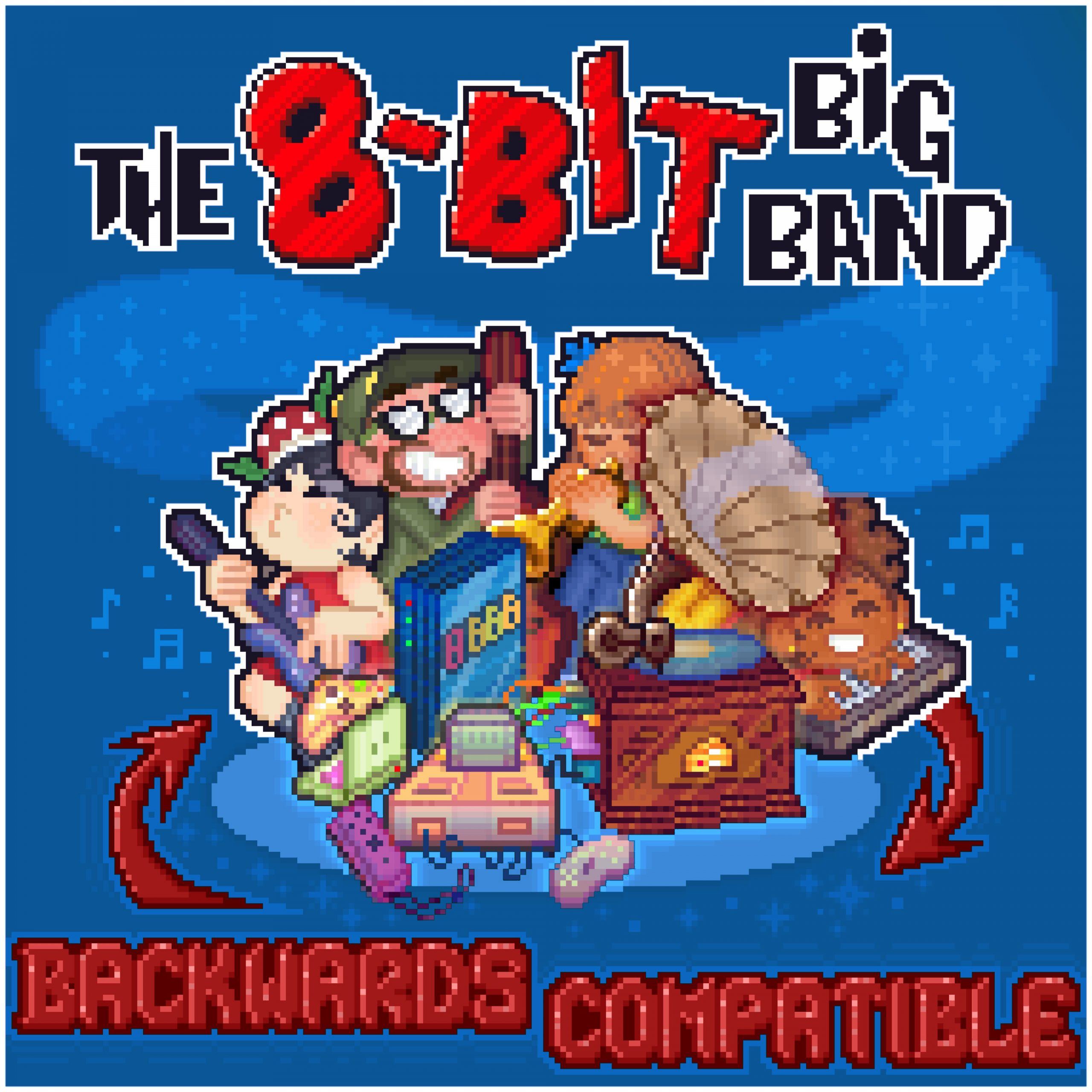 NEW RELEASE: Tony Nominee Charlie Rosen's The 8-Bit Big Band's BACKWARDS COMPATIBLE due out January 8, 2021
