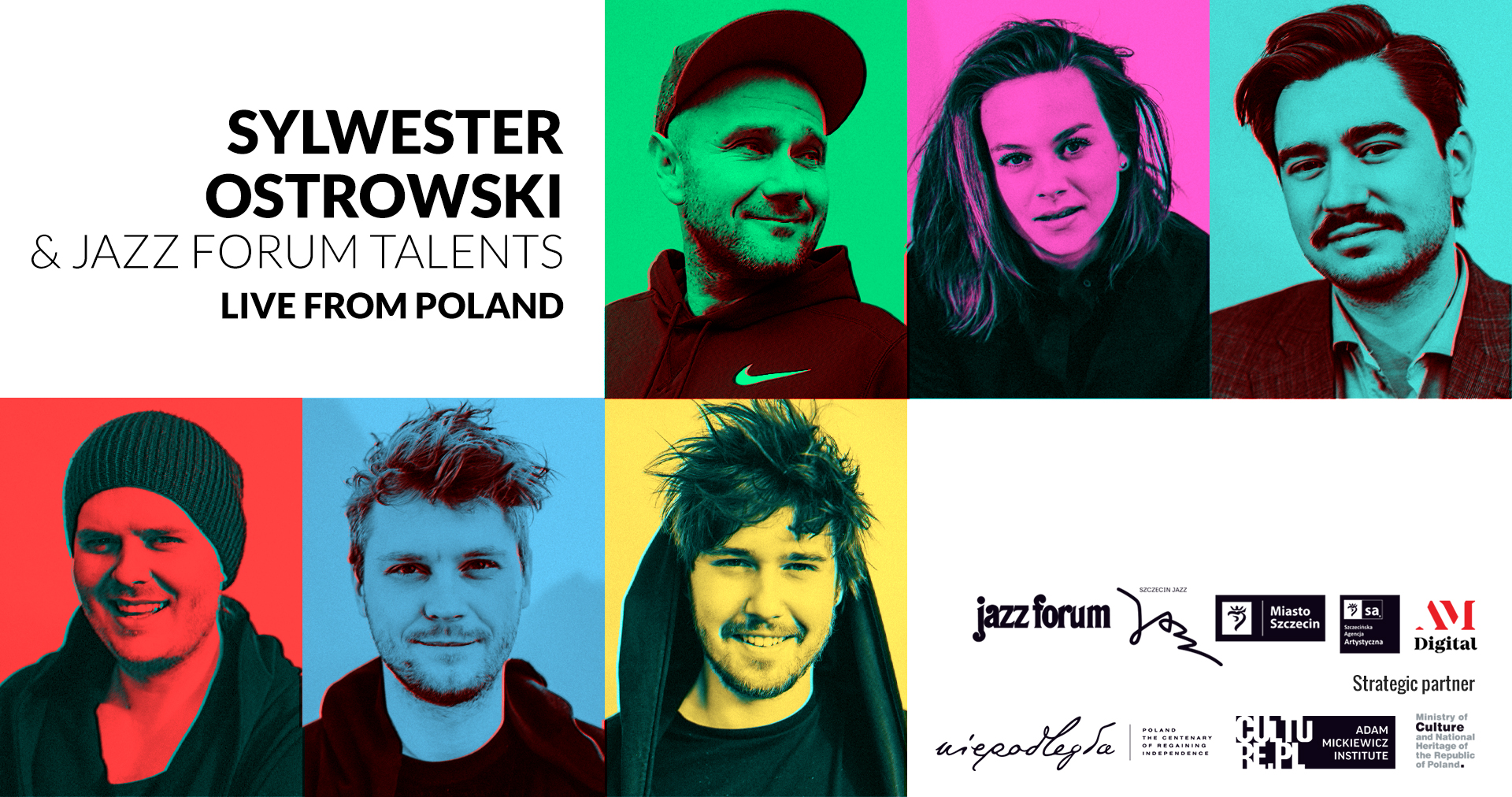 JAZZ NEWS: JazzCorner Presents: Sylwester Ostrowski & JAZZ FORUM Talents from Poland 11/5