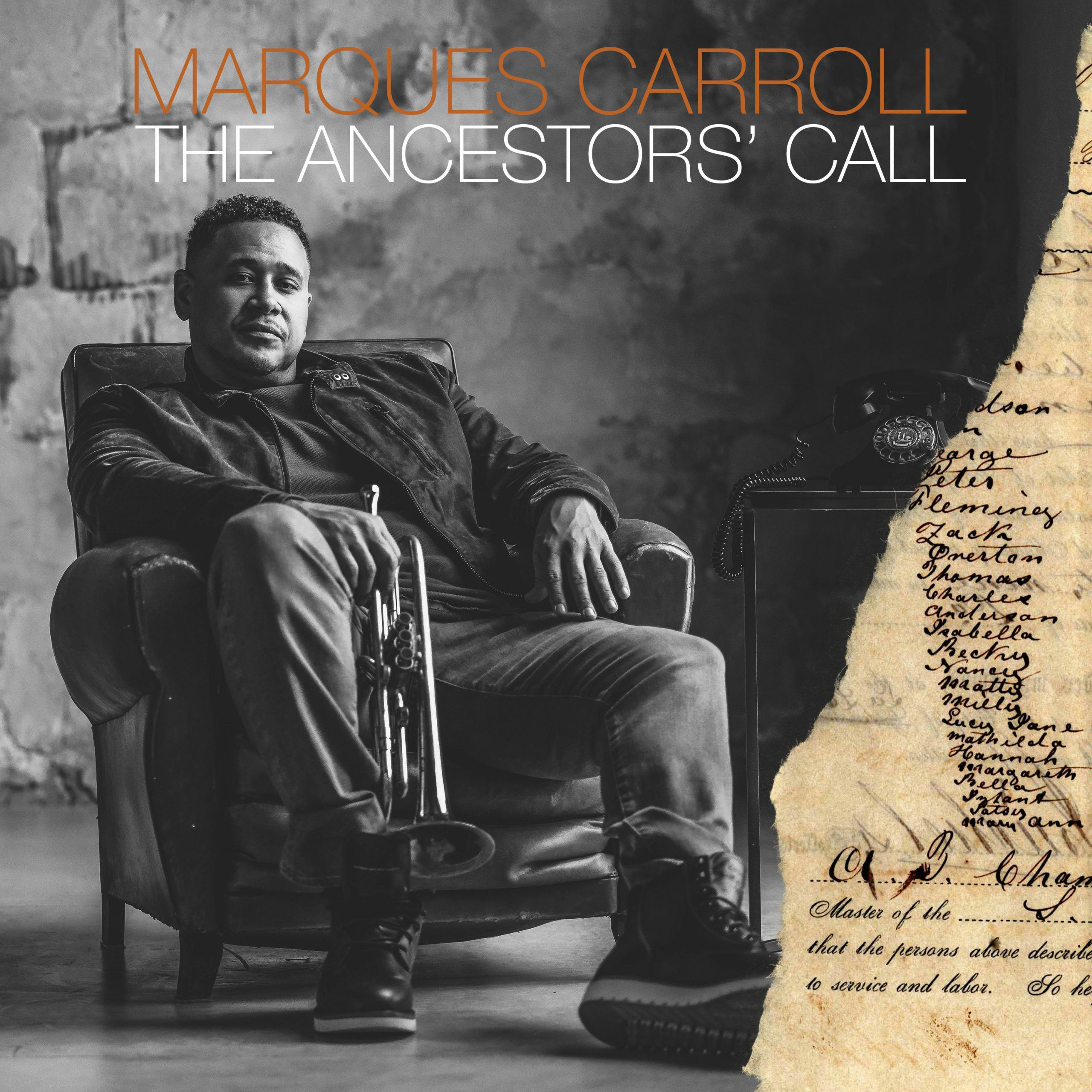 Album review: Marques Carroll  The Ancestors' Call – bebop spoken here
