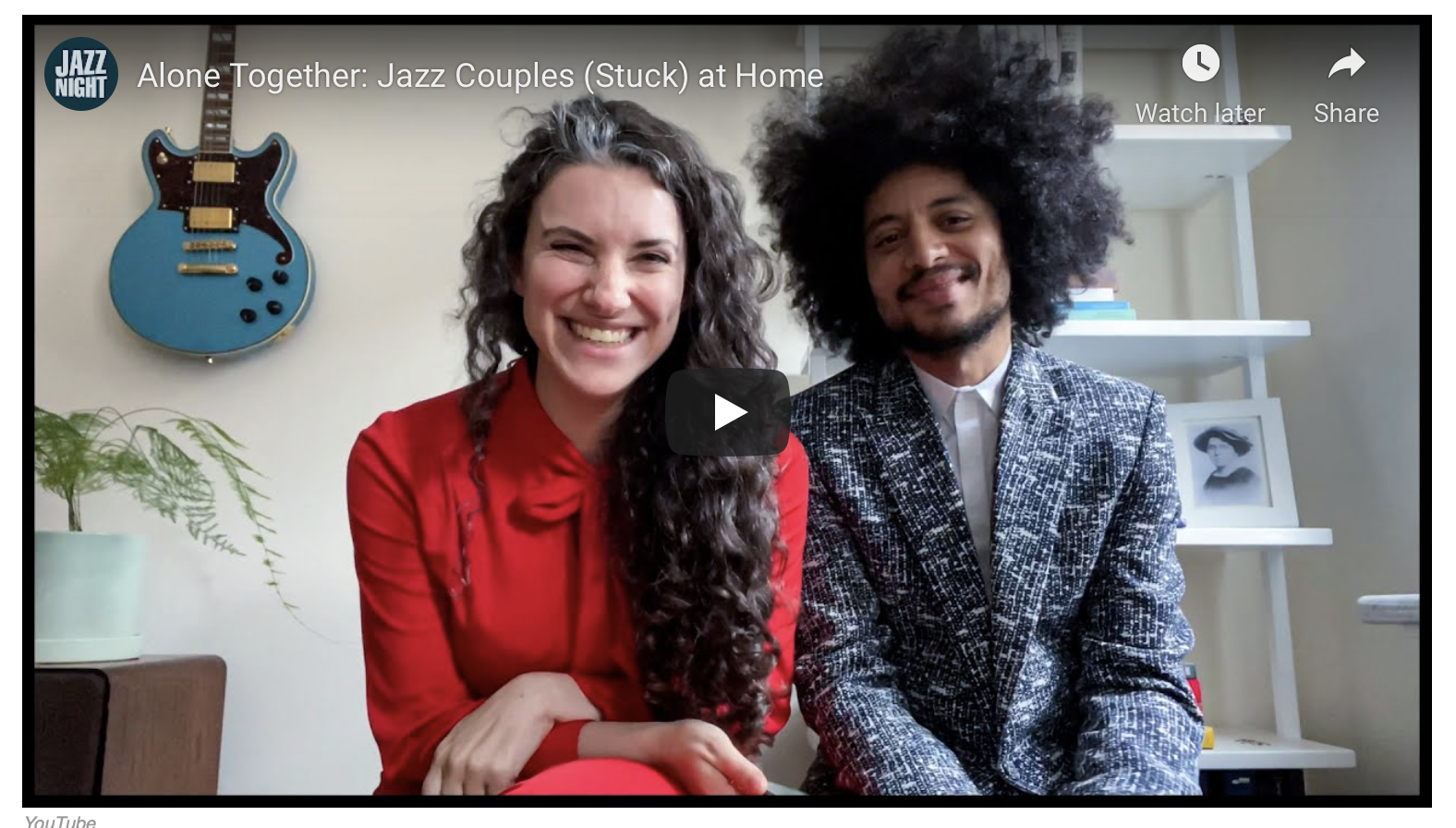Alone Together: Jazz Couples (Stuck) at Home – NPR & Jazz Night in America