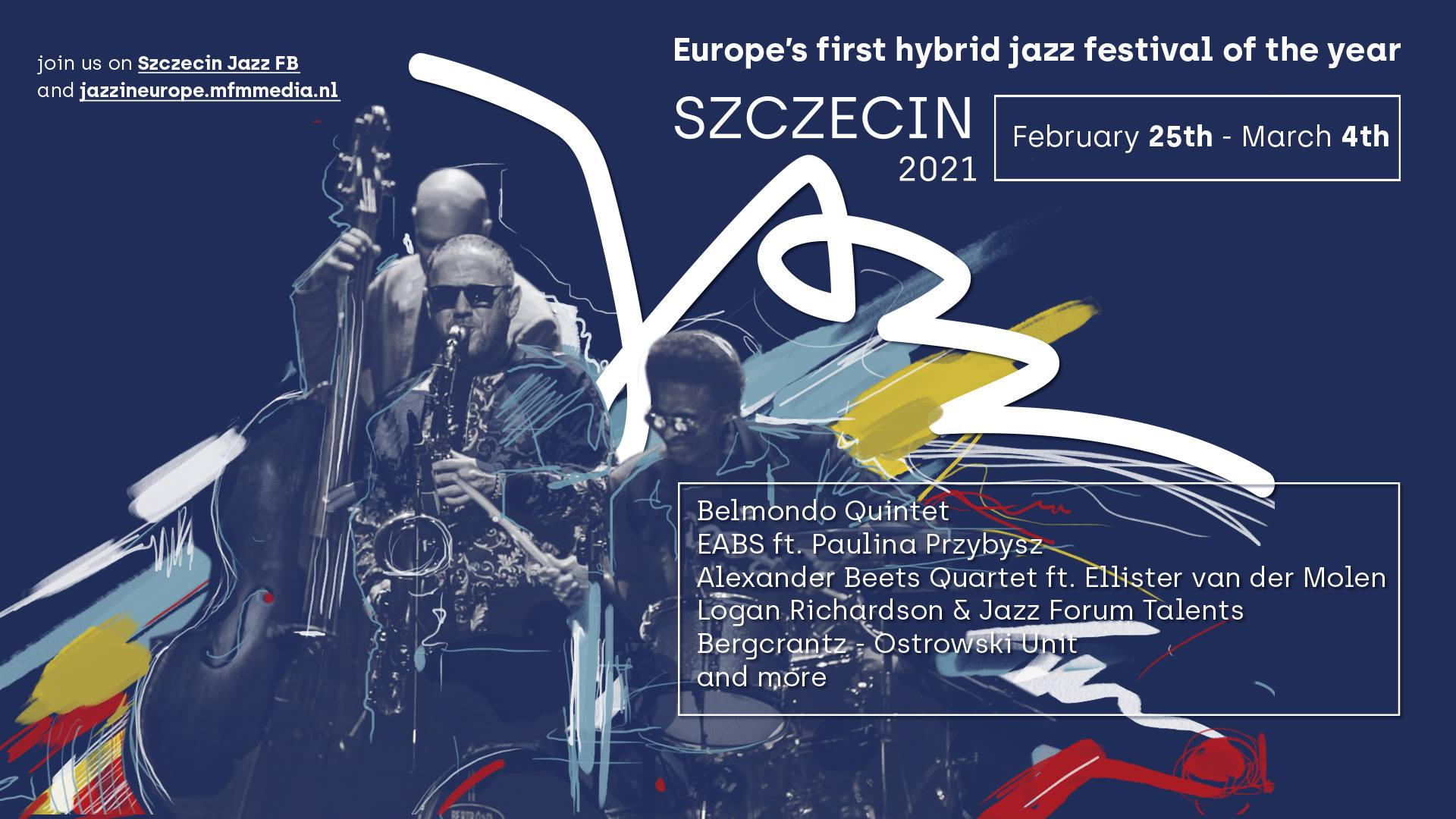 SZCZECIN 2021: Europes First Hybrid Jazz Festival of the Year Runs February 25-March 4 in Partnership with Jazz in Europe