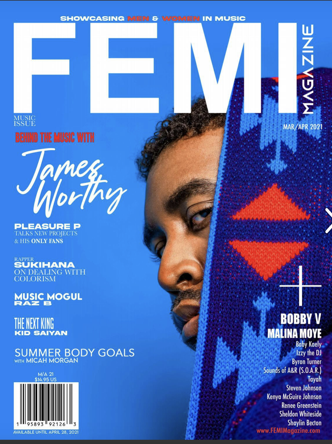 FEMI Magazine: Sounds of A&R Featured in March Issue