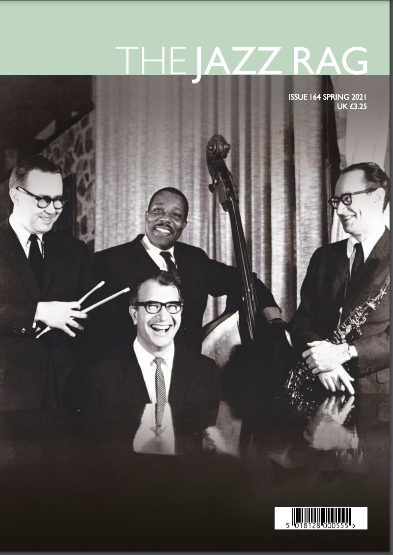 COVER: The Jazz Rag Features Dave Brubeck Cover Story + Reviews of Royal Bopsters, Charles McPherson, Champian Fulton, Dot Time Artists and More