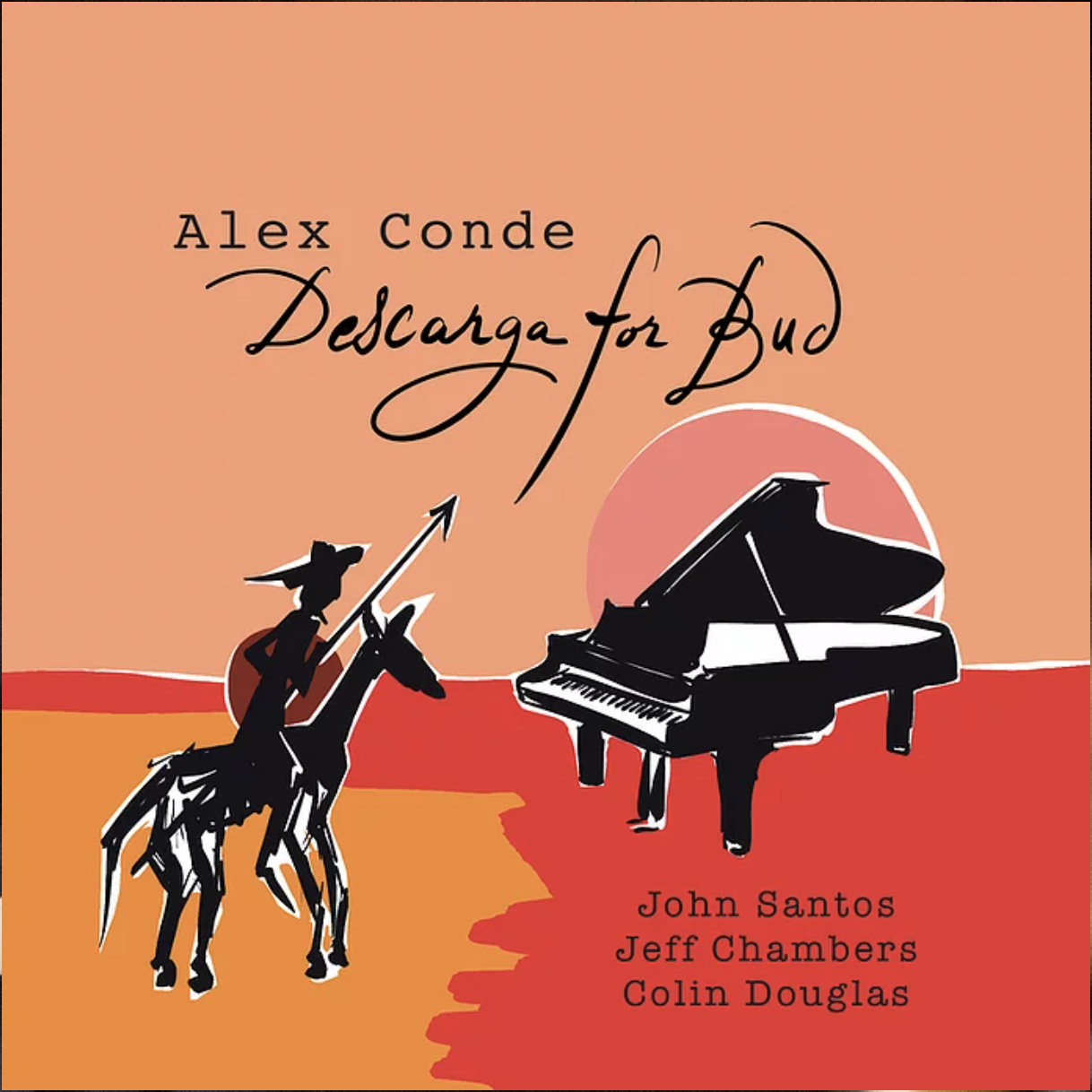 NEW RELEASE: Alex Conde's DESCARGA FOR BUD due out May 28, 2021 via Sedajazz