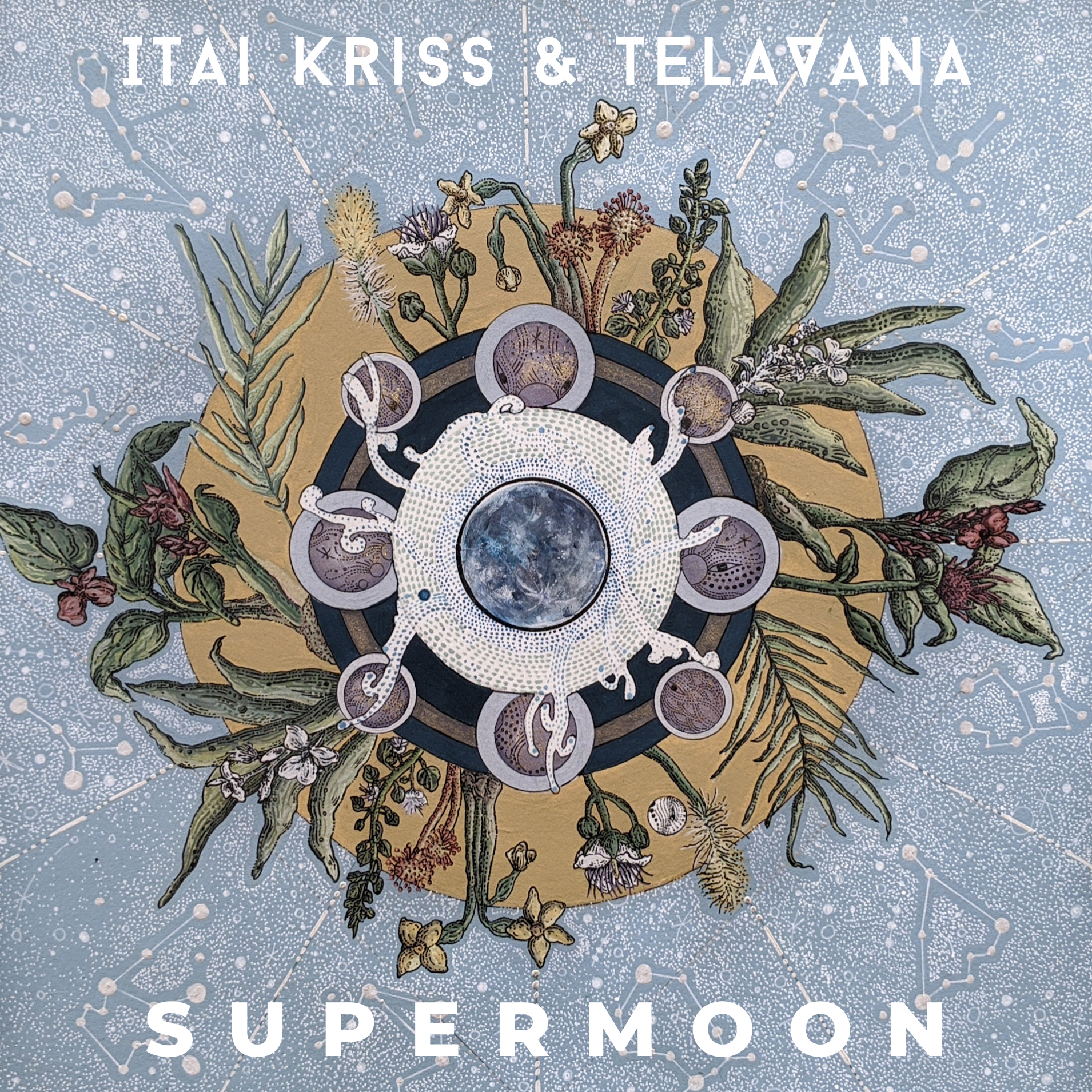 NEW RELEASE: Itai Kriss & Telavana's SUPERMOON is out October 8, 2021