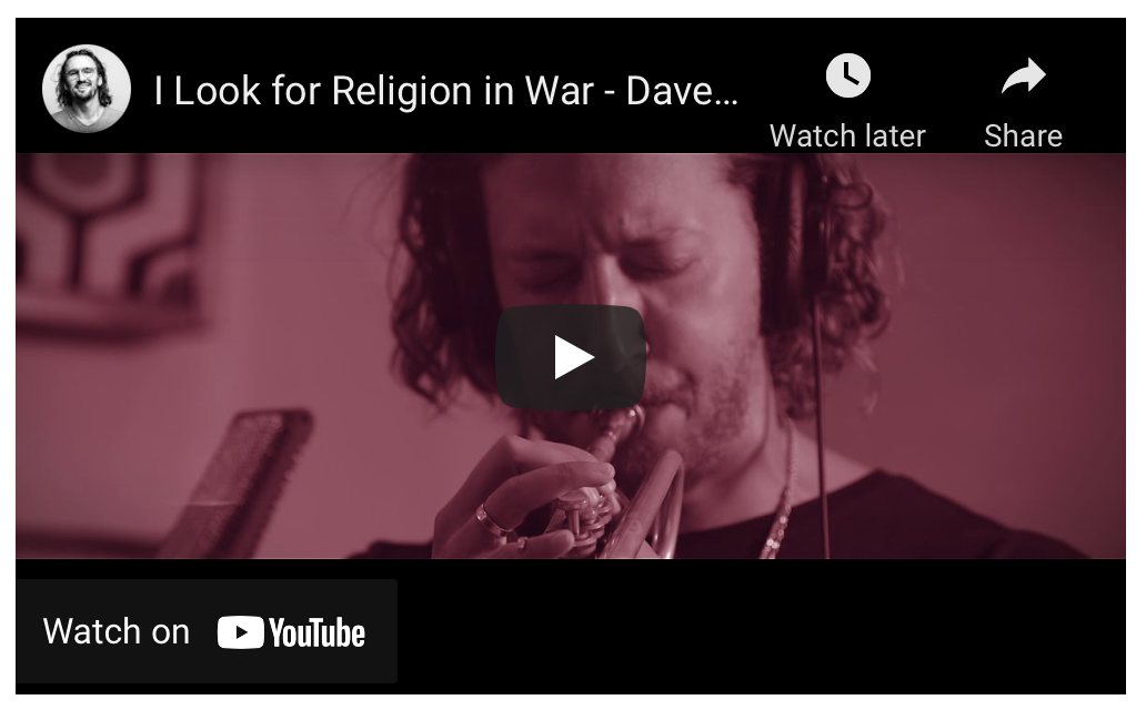 """Video Premiere: Dave Meder, """"I Look for Religion in War"""" from 'Unamuno Songs and Stories'  – Something Else"""